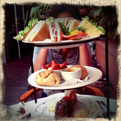 Afternoon tea at Chado Downtown