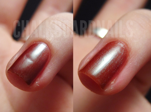 chalkboardnails:  Orly Nail Rescue to the Rescue This amazing product saved my nail after I nicked it with my razor, and it also works for tears, splits, and cracks. Give the link a click to check out how it works.   this product is actually very impressive.