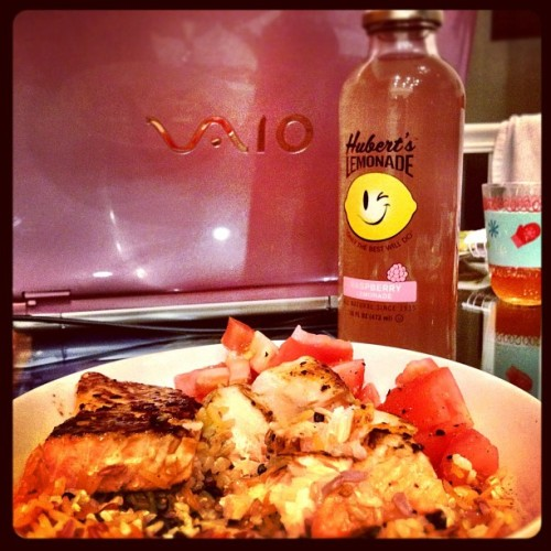 #dinner #food #lemonade #yummy #delicious (Taken with instagram)