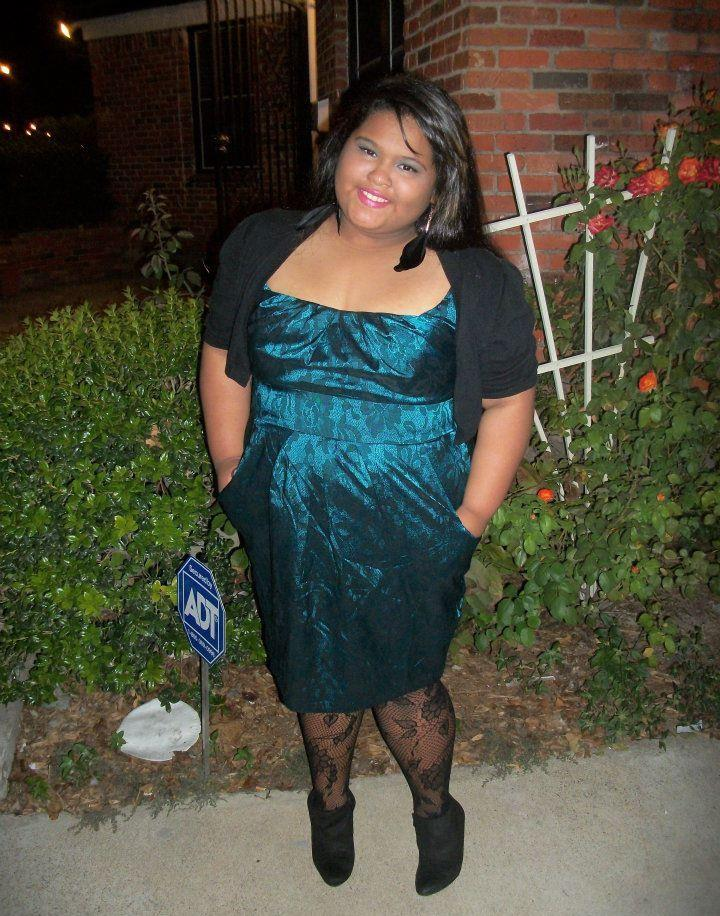 chubby-bunnies:  This is me in my school dance dress. I'm 16 form the US and a size 20. I had a break through last weekend, I asked a guy to my high school dance and got horrible rejected. He told me he could never be seen going to a dance with a FAT girl…This hurt of course but I soon told my BEST guy friend about this and he had a long talk with me, telling me I am beautiful and such and how any guy would be lucky to go with me because I'm smart beautiful and amazing right after he asked me to the dance and kissed me later in front of all the people at my school and whispered that he would love me even if weighed 90 - 300 lbs moral of the story girls never let one person put you down about who you are because you are BEAUTIFUL ! -Elissia, http://chunkyymonkeyy-95.tumblr.com/