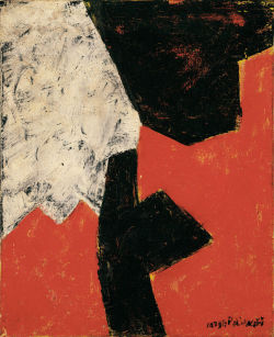 laflaneuse8:  Serge Poliakoff, Abstract Composition, 1960