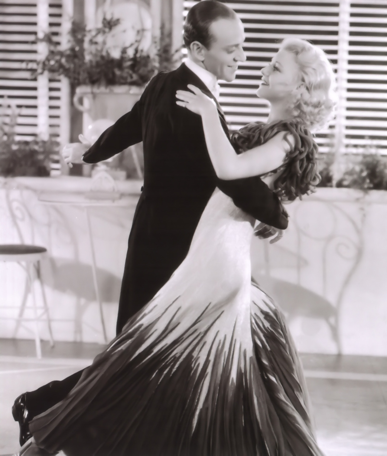 Fred Astaire & Ginger Rogers in The Gay Divorcee