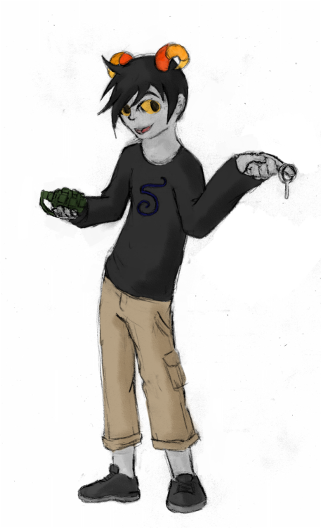 Nick's fantroll! http://patcheel.tumblr.com/