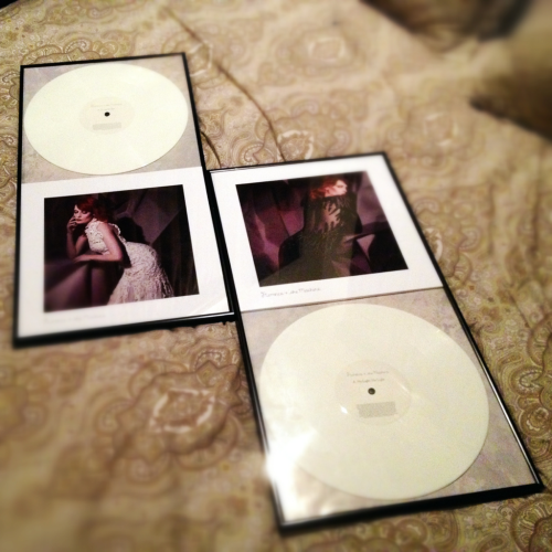 Florence +TheMachine Limited Edition records :D