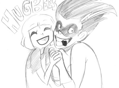 Anonymous asked: HUGGBEES!