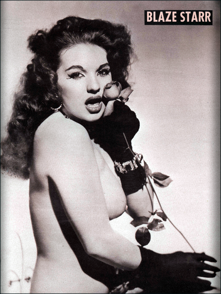 Blaze    from Playgirl magazine 1956