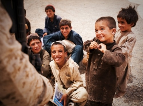 "mendmyheart:  idterab:  A young Afghan boy nervously attempts to recite and complete the phrase, ""My name is ___"" during class.  omg, my heart."