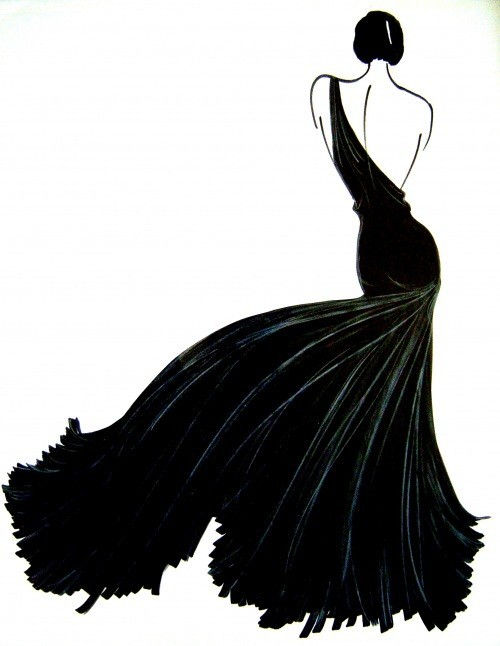 Fashion Illustration by Joel Woodward