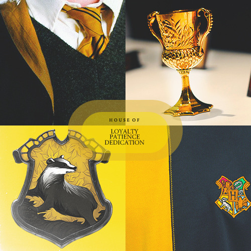 thefirsthorcrux:  House of: Loyalty, Patience, and DedicationHufflepuff corresponds roughly with the element of earth. Possible Zodiac Sign/s: Libra (Cancer and Pisces)