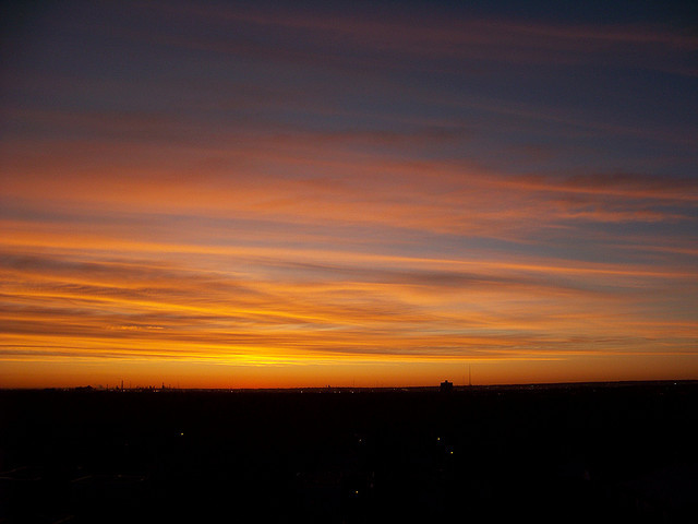 edm09i22 Edmonton Cirrus Cloud Sunrise 2009 by CanadaGood on Flickr.