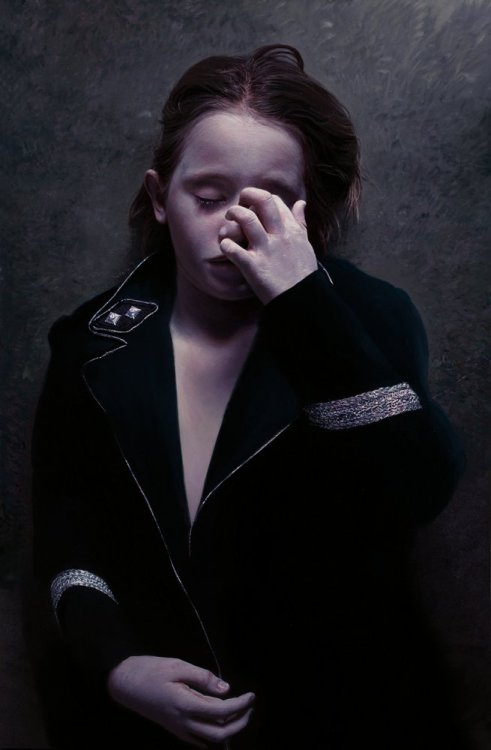 The Murmur of the Innocents 20 by ~gottfriedhelnwein I can't believe this is actually a PAINTING