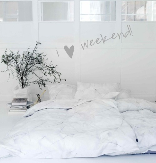 lazy weekend (via French By Design)
