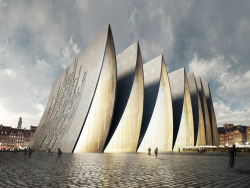 perpetualpusher:  Cathedral fold.  Axis Mundi Architects. And breathtaking.