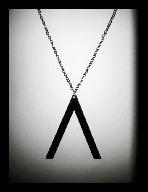 """A"" NECKLACE  Price: Rp.50,000.- This special edition necklace is exclusively designed by the one and only Afgansyah Reza. To order, simple send an email to thisiscarnival@gmail.com  We'll be waiting for your order! :)"