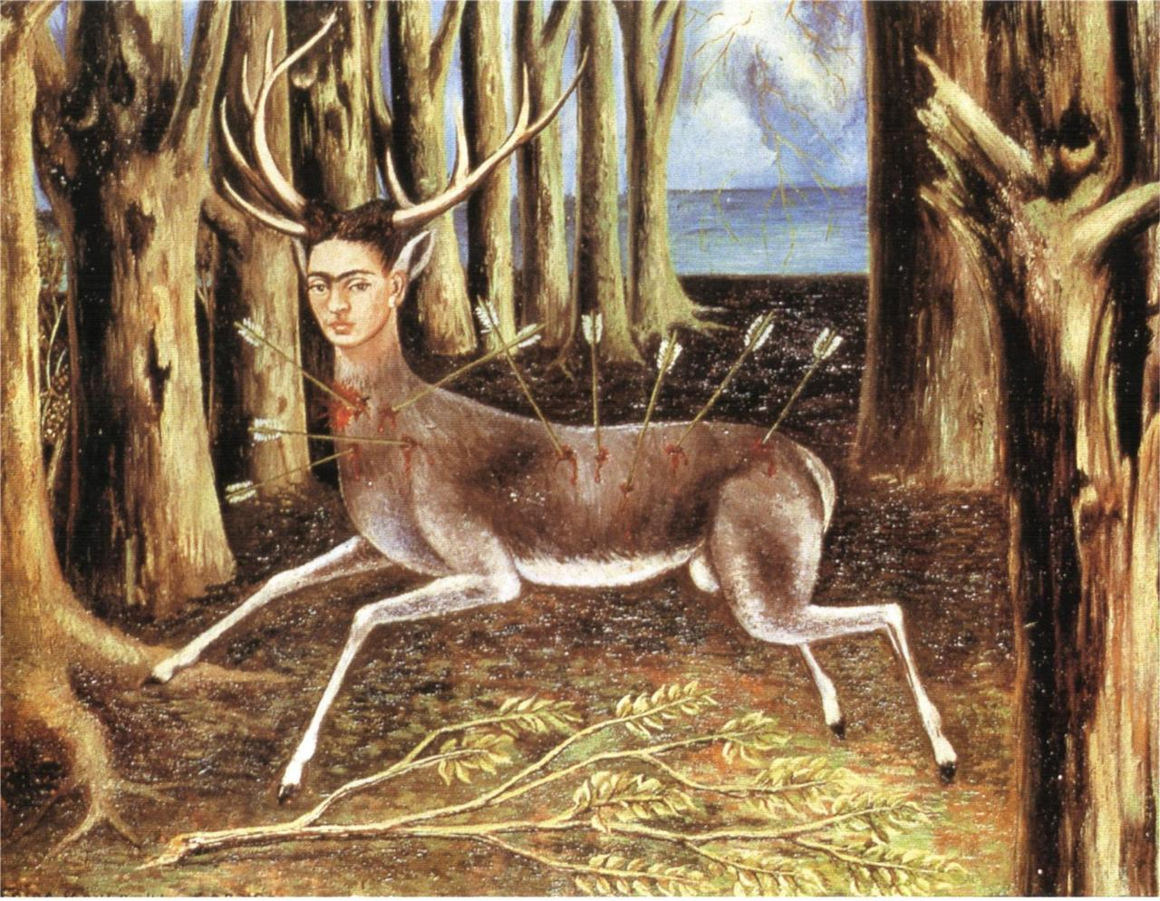 The Wounded Deer (1946) by Frida Kahlo