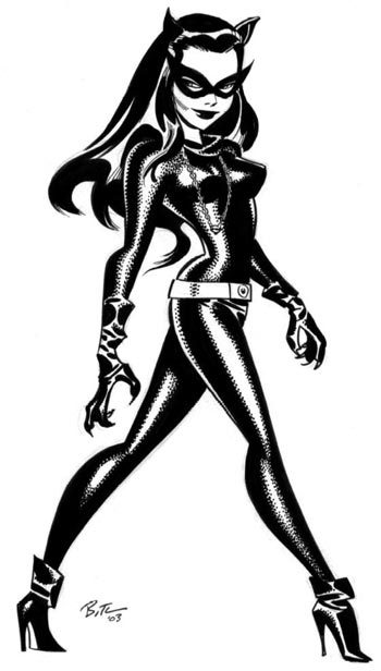 GODDESSES OF OUR YOUTH #5: Julie Newmar by Bruce Timm