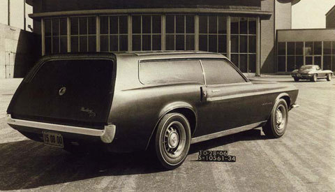 wagonation:  Mustang Shooting-break Prototype.