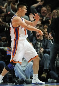 game-action:  Jeremy Lin Karate Master like guard Brandon Jennings!