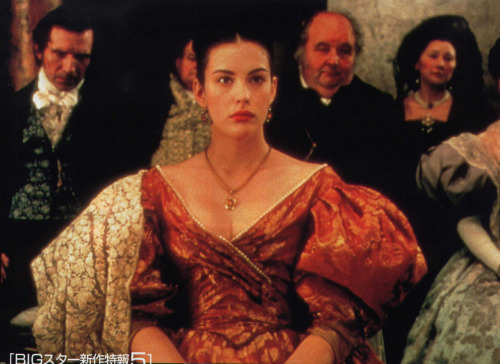Liv Tyler as Tatiana in Martha Fiennes' Onegin (1999) (via Lovely Liv Tyler Website - Gallery - Movies - Onegin (1999) - Picture)