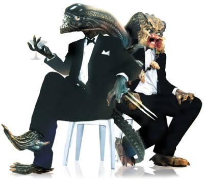 Posh Alien vs Predator