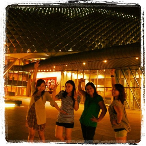Esplanade, Singapore! #singapore #esplanade #travel #family  (Taken with instagram)