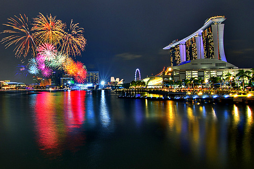 National Day Parade 2011.  Not bad Singapore..