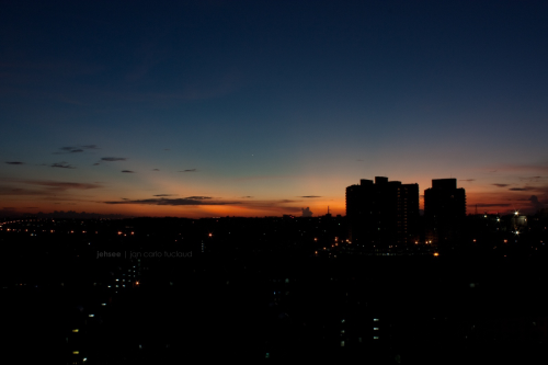 October 2011. Acacia Estates, Taguig City | The True Meaning of Twilight 2.