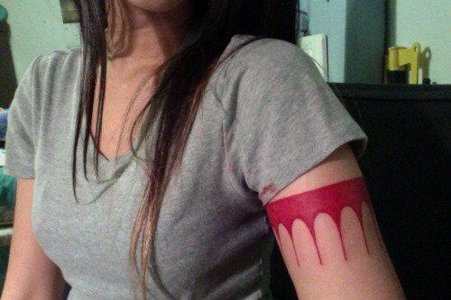fuckyeahtattoos:  5th tattoo on my right arm of Pocahontas' arm bandVanh's Tattoo Studio   SWEET!!!!