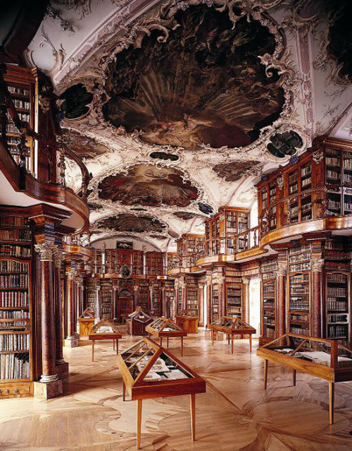 Abbey Library of Saint Gall @ Switzerland