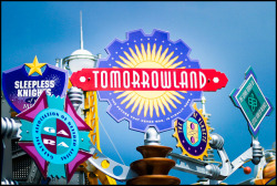 Over Saturated Tomorrowland Signage 2004 by Alan Rappa on Flickr.