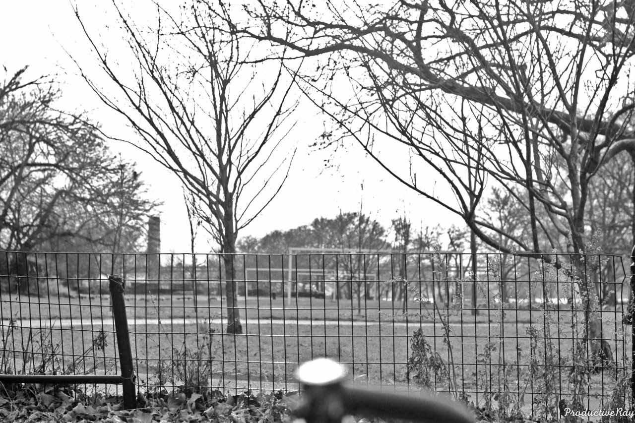 Dyckman Field. Black & White
