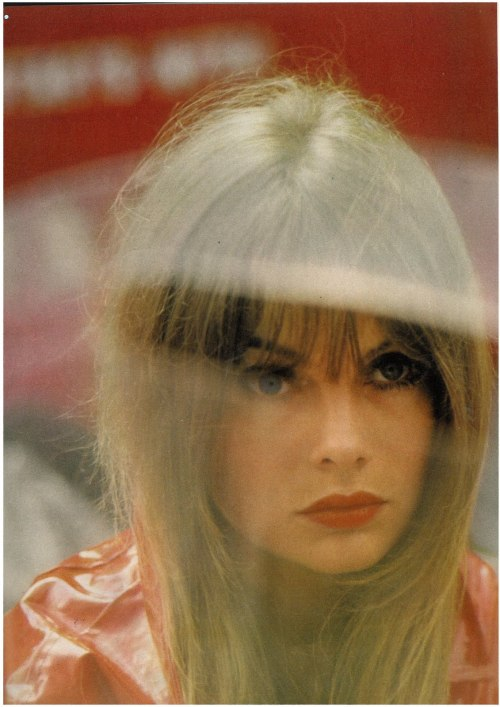 Jean Shrimpton Photo by Saul Leiter, 1966, Vogue UK