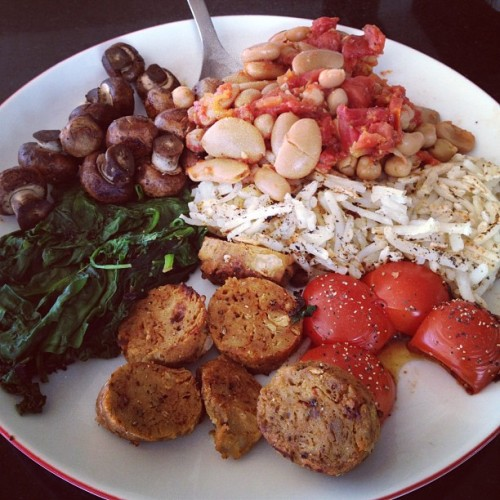 vegan english breakfast