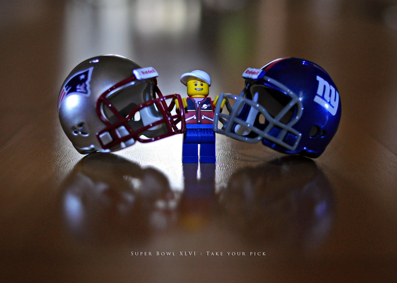 jaysonandmyra:  Super Bowl XLVI : Take your pick