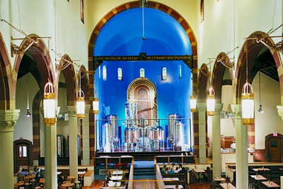 11 New Uses for Old Churches - Mental Floss Cool piece highlighting several re-purposed old churches.  I like this brewery/restaurant in Pittsburgh. via tayloransley