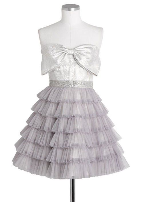 Brocade Bow Tiered Dress Delias - $89.50