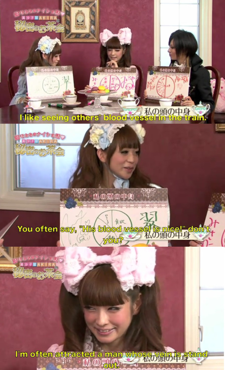 memorytwentysix:  This seemed cute in the creepiest way.  Misako's face lmao
