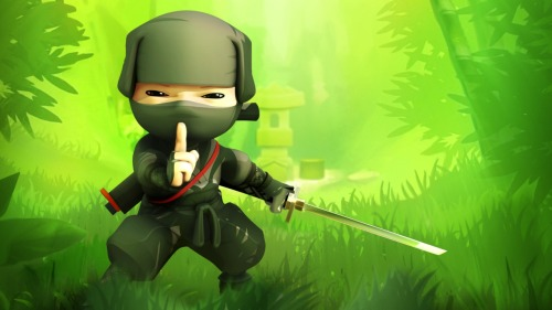 I downloaded a demo of Mini Ninjas yesterday… I have to buy it! :33
