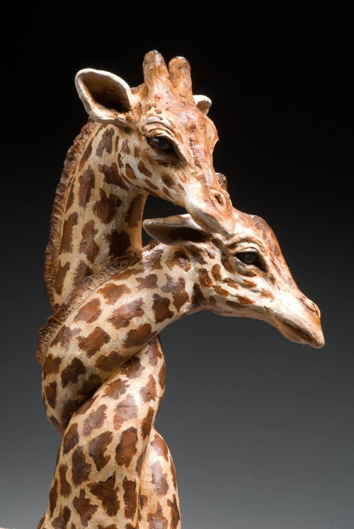 Cindy Billingsley: Giraffes detail, 2008