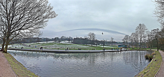 shibden park lake on Flickr.