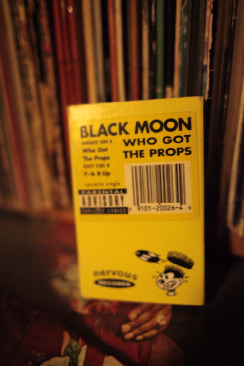 First Black Moon single on casette! i got it on vinyl but when i found this for 0.10$ at a flea market, i knew i had to rescue this piece of history