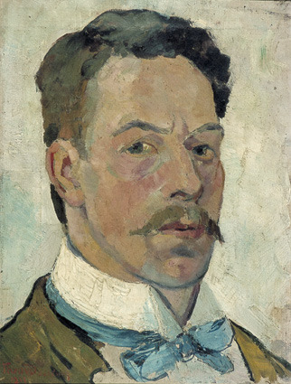 Theo van Doesburg, Self-Portrait, 1913