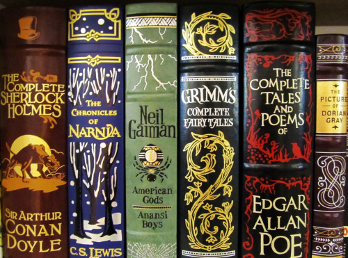 sevenkeystodoomsday:  These Barnes and Noble Leatherbound Classics are seriously going to be the death of me I cannot stop buying them.
