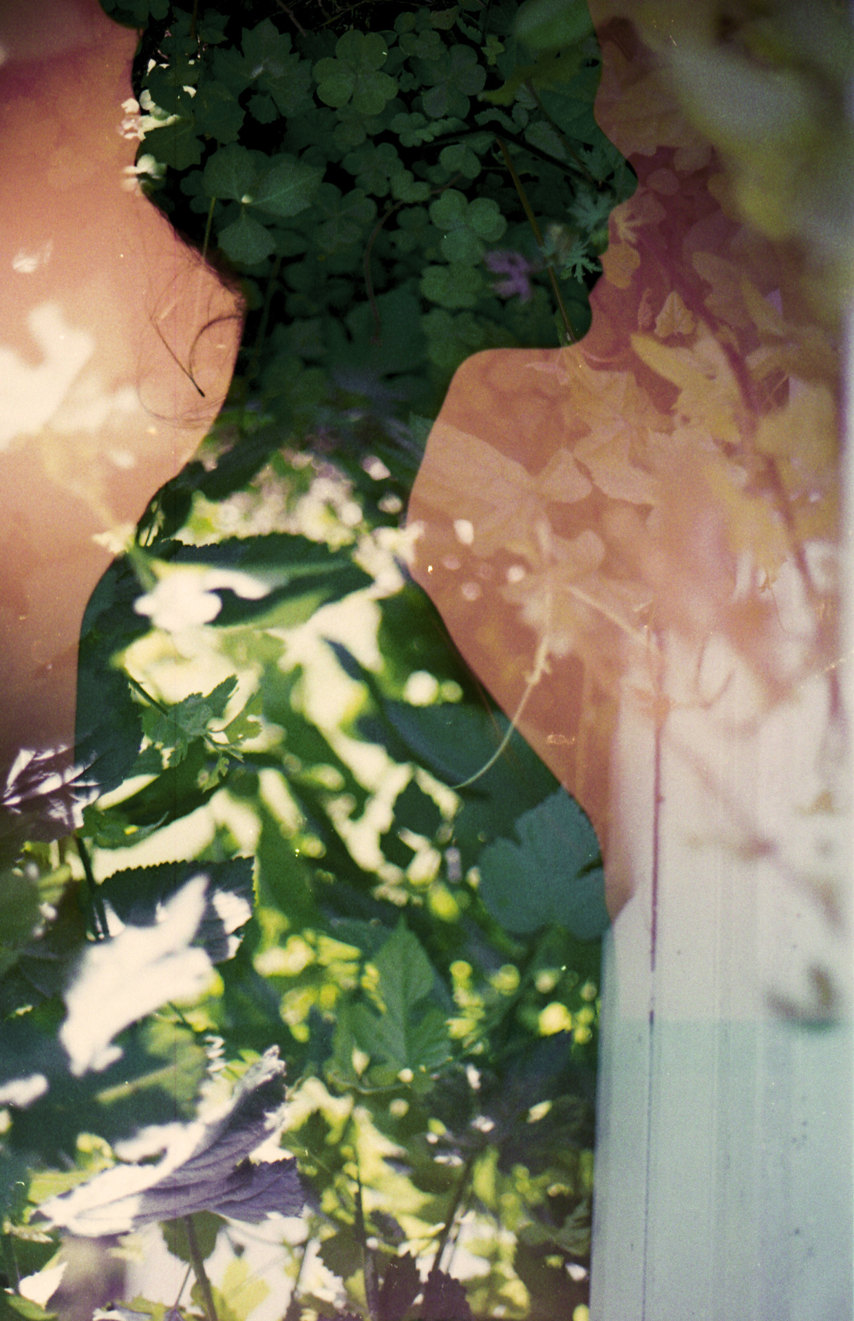 Katie 35mm, Double Exposure Tallahassee, FL