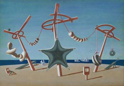 The Beached Margin by Edward Wadsworth, 1937