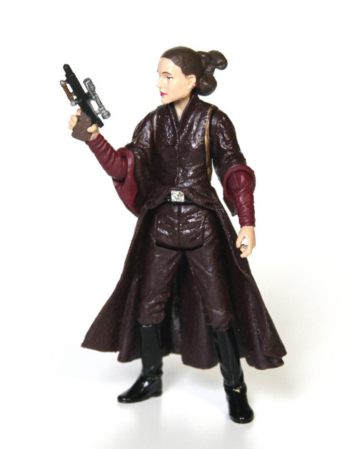 Padme Amidala action figure, via MattAndKristy (Flickr).