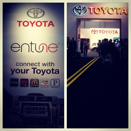 Toyota National at #nada2012  (Taken with instagram)