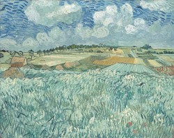 Vincent van Gogh: Plain Near Auvers, (1890)