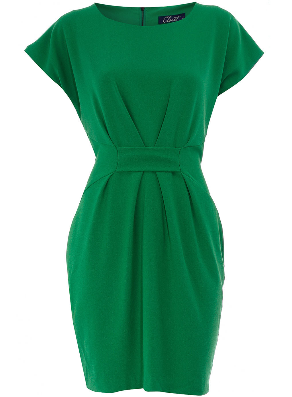 Dorothy Perkins - Green Tab Gathered Dressvia us.dorothyperkins.com, $27.00 (was $69.00) Item Code: 60000717