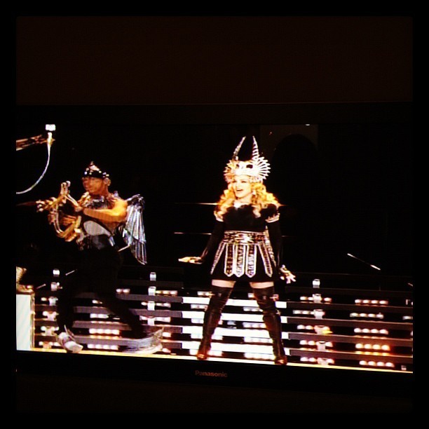 Madonna. #MomentFactory #MontrealPride #SuperBowl (Taken with instagram)